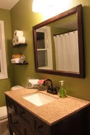 bathroom cabinets rectangular beveled mirror oil rubbed bronze