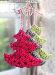 cute crocheted christmas tree ornaments pictures photos and