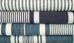 striped home decor fabric classic vintage striped french ticking tablecloth or fabric