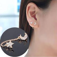 connecting earrings chain earrings ebay