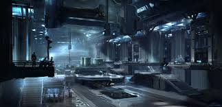 halo 4 infinity interior concept art by 343 industries artist