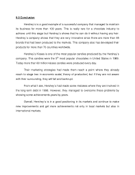 sample business report conclusion