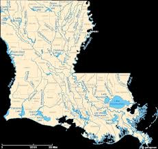 Louisiana rivers images Index of images geology geology_large louisiana gif
