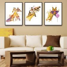 Giraffe Home Decor by Online Buy Wholesale Giraffe Framed Art From China Giraffe Framed