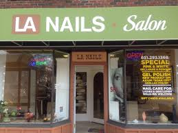 la nails st paul mn highland park and grand avenue locations