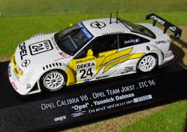 opel calibra race car opel calibra v6 yannick dalmas itc 1996 team joest model racing