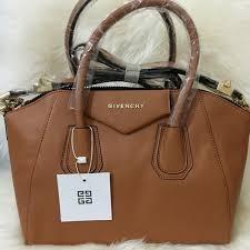 Givenchy Antigona Cowhide Bolsa Givenchy Antigona Caramelo Couro Premium Givenchy And Bag