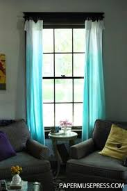 Ombre Sheer Curtains Majestic Looking Ombre Sheer Curtains Contemporary Design Window