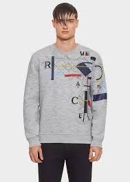 versace embroidered lászló sweatshirt for men uk online store