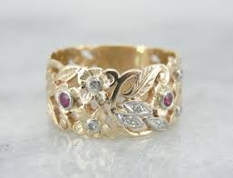 vintage filigree wedding bands 164 best обручалки images on rings jewelry and