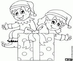 santa claus elves coloring pages santa claus coloring pages