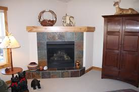 home design corner electric fireplace ideas midcentury expansive