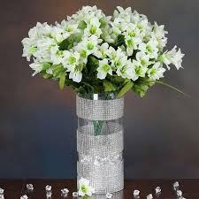 wholesale silk flowers 150 wholesale artificial flowers bush wedding vase