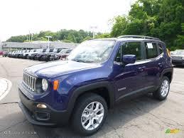 jeep renegade blue interior 2016 jetset blue jeep renegade latitude 4x4 113615055 gtcarlot