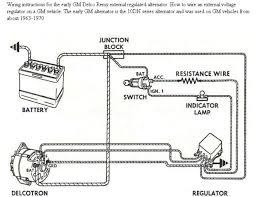 external regulator alternator wiring diagram diagrams 626343 voltage