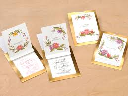 step by step from the card kit make it from