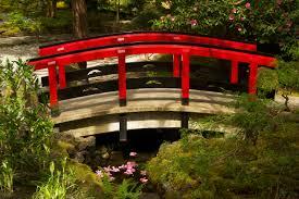 red japanese garden bridge home design ideas