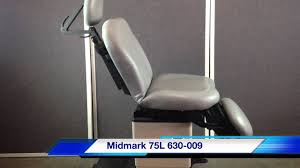 midmark 630 procedure table midmark ritter 75l 630 009 power programable procedure table chair