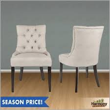 Dining Chair Design Amazing Tufted Nailhead Dining Chair Lovely Parsons On In Design