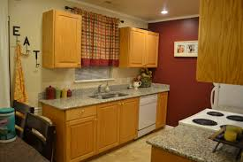 deck out my home honey oak cabinets what do i do with you