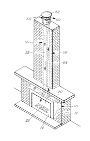 Fireplace Damper Parts - patent us20120090596 damper for direct vent fireplace insert