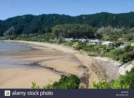new zealand beach house stock photos u0026 new zealand beach house