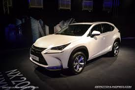 the all new lexus nx lands in malaysia u2013 prices start at rm 292k
