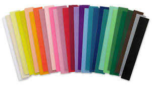 where to buy crepe paper sheets craft shop crepe paper folds single ply made in america on