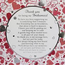 in bridesmaid card bridesmaids thank you card wording bridesmaid card large 210mm