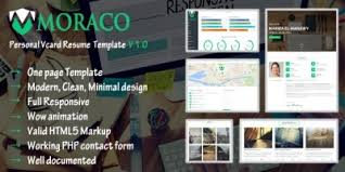 Resume Html Template Swiftly Resume Html Template Html Resume Website Templates