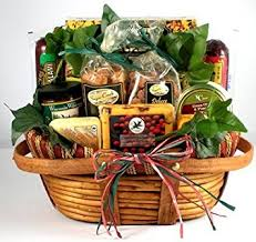 cheese gift baskets the midwest s best deluxe sausage and cheese gift basket for men