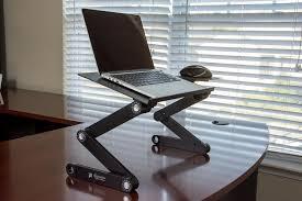 Laptop Desk Stands by Adjustable Stand Up Desk Attachment Best Home Furniture Decoration