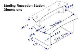 desk reception desk dimensions ada sterling reception dimensions 900px reception furniture dimensions reception desk dimensions