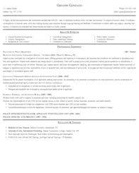 police detective resume protective service resume samples
