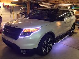 Ford Explorer 2014 - running boards for 2014 ford explorer sport blacked out version
