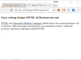 cara membuat website di internet cara membuat tulisan underline di word dan html html pinterest