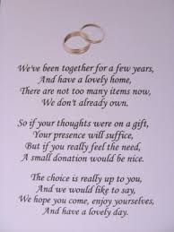 wedding gift money poem extraordinary poems for wedding invitations asking for money 28 on
