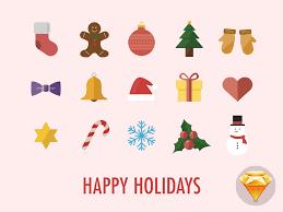 happy holidays icons by maximilian hennebach dribbble