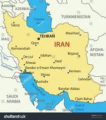 World Map Iran by Islamic Republic Iran Vector Map Stock Vector 96052538 Shutterstock