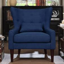 Blue Living Room Chair Blue Accent Chairs You Ll Wayfair