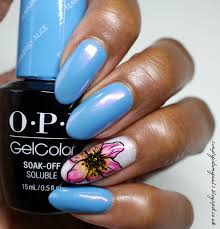 opi gelcolor fearlessly alice chromed simply into my nails