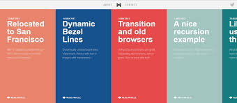 blue color palette how to choose the right color palette in web design