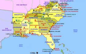 map of usa showing southern states southeastern usa map us map wallpaper weakened irma causes major