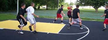 basketball court construction kcr enterprises llc