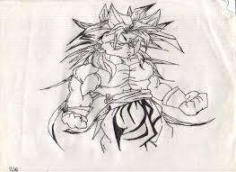 draw dragon ball characters goku pencil drawing collection