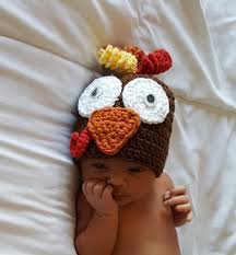 crochet baby thanksgiving hat crochet turkey baby hat fall