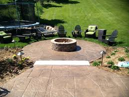 patio ideas custom built outdoor fire pits built in fire pits