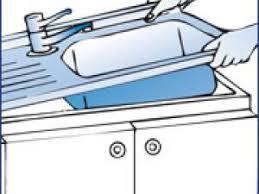 evier cuisine à poser sur meuble evier à poser ou à encastrer par meubles et ustensiles de cuisine