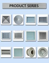 Exterior Central Air Conditioner Cover - adjustable vent of central air conditioner parts mesh vent covers