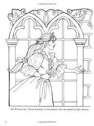 dover publications amazon princess leonora coloring book